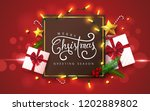 vector merry christmas and... | Shutterstock .eps vector #1202889802