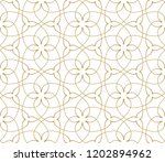 seamless linear pattern with... | Shutterstock .eps vector #1202894962