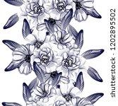 abstract elegance seamless... | Shutterstock .eps vector #1202895502