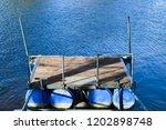 floating docks construction   Shutterstock . vector #1202898748