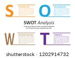swot analysis table template... | Shutterstock .eps vector #1202914732