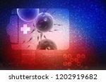 3d illustration showing... | Shutterstock . vector #1202919682