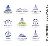 building icon set. construction ... | Shutterstock .eps vector #120292762