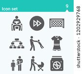 contains such icons as playoff  ... | Shutterstock .eps vector #1202929768
