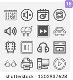 contains such icons as calendar ... | Shutterstock .eps vector #1202937628