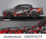 pickup truck decal designs ... | Shutterstock .eps vector #1202976175