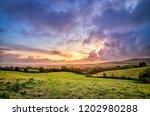 british landscape sunrise | Shutterstock . vector #1202980288