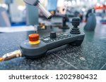 quality control measurement... | Shutterstock . vector #1202980432