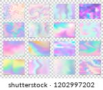 abstract holographic premium... | Shutterstock .eps vector #1202997202