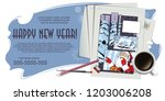 stock illustration. people in... | Shutterstock .eps vector #1203006208