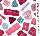 vector seamless pattern of... | Shutterstock .eps vector #1203039982