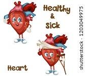 cartoon illustration of a... | Shutterstock .eps vector #1203049975
