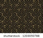 abstract geometric pattern with ... | Shutterstock .eps vector #1203050788