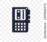 voice recorder transparent icon.... | Shutterstock .eps vector #1203066172