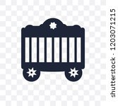 circus cage transparent icon.... | Shutterstock .eps vector #1203071215