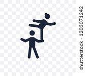 acrobat transparent icon....   Shutterstock .eps vector #1203071242