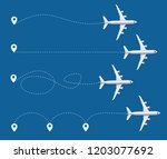 realistic detailed 3d white... | Shutterstock .eps vector #1203077692