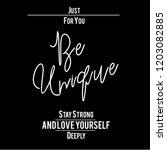 positive slogan print t shirt... | Shutterstock .eps vector #1203082885