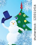 winter background with... | Shutterstock .eps vector #120311416
