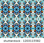 geometric seamless pattern....   Shutterstock .eps vector #1203115582