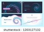 set of web page design... | Shutterstock .eps vector #1203127132