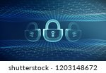 coputer internet cyber security ... | Shutterstock .eps vector #1203148672