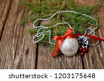 christmas song for the holiday | Shutterstock . vector #1203175648