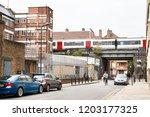 london borough of hackney ... | Shutterstock . vector #1203177325