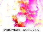 modern art. colorful... | Shutterstock . vector #1203179272