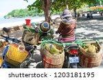 kep  cambodia   may 25  2014 ... | Shutterstock . vector #1203181195