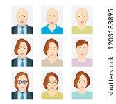 document identification photo... | Shutterstock .eps vector #1203183895