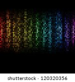 Abstract Spectrum Dark...