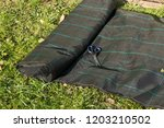 lay garden fleece | Shutterstock . vector #1203210502