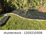 lay garden fleece | Shutterstock . vector #1203210508
