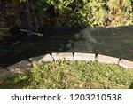 lay garden fleece | Shutterstock . vector #1203210538
