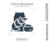 cereals icon. high quality... | Shutterstock .eps vector #1203221998