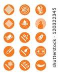 description icons of clothes ... | Shutterstock .eps vector #120322345
