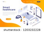 modern flat design isometric... | Shutterstock .eps vector #1203232228
