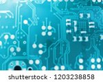 electronic printed circuit... | Shutterstock . vector #1203238858
