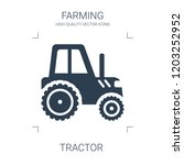 tractor icon. high quality... | Shutterstock .eps vector #1203252952
