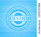question water wave concept... | Shutterstock .eps vector #1203255388