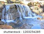 serpentine falls trail   Shutterstock . vector #1203256285