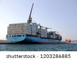 algeciras  spain   september 25....   Shutterstock . vector #1203286885