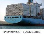 algeciras  spain   september 25....   Shutterstock . vector #1203286888