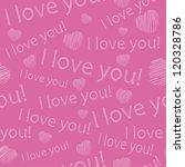 seamless texture for valentine... | Shutterstock .eps vector #120328786