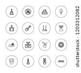 dirt icon set. collection of 16 ... | Shutterstock .eps vector #1203312082