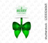 ribbon for christmas layout... | Shutterstock .eps vector #1203326065