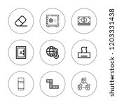 change icon set. collection of... | Shutterstock .eps vector #1203331438