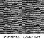 stripe geometric pattern... | Shutterstock .eps vector #1203344695