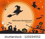 halloween background1111 | Shutterstock .eps vector #120334552
